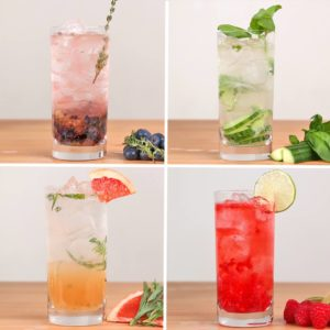Gin And Tonic 4 Ways