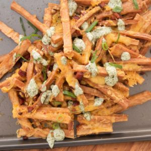 Here's some authentic Brazilian Yucca Fries from our friends at Tasty Demais!