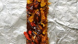 Almond Goji Berry Energy Bars