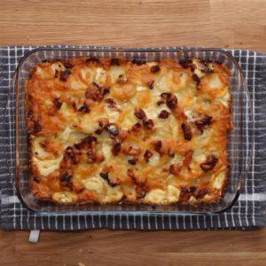 Cheesy Bacon Potato Bake