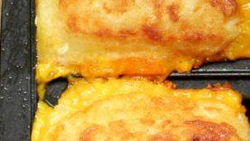 Cheesy Hash Brown Toastie
