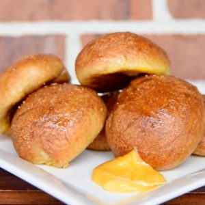 Cheesy Pretzel Bombs