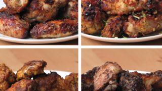 Chicken Wings 4 Ways