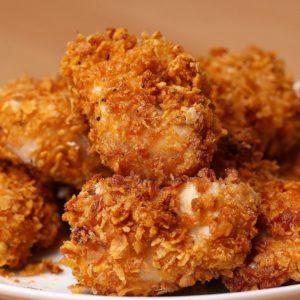 Cornflake Chicken Nuggets