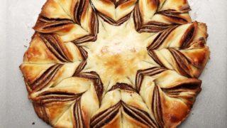 Happy Valentine's Day // Braided Chocolate Tear 'n' Share Bread