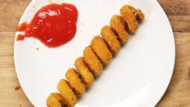 Homemade Turkey Twizzlers