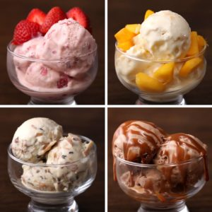 Ice Cream 4 Ways from our Brazilian friends at Tasty Demais… perfect way to end the Olympics!