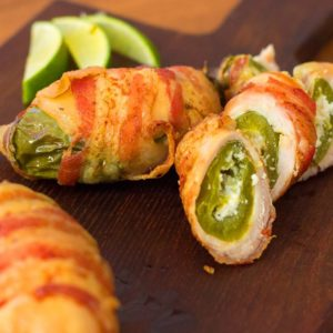 Jalapeño Popper Stuffed Bacon Chicken