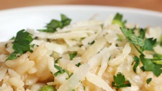 Lemon And Garlic Risotto