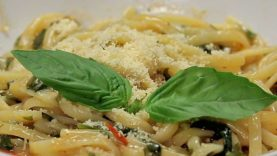 One-Pot Basil Pasta