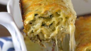 Pesto Lasagne Rolls