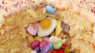 Pick 'N' Mix Piñata Cake