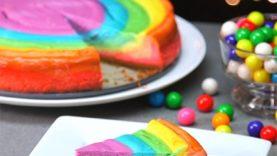 Rainbow Cheesecake