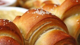 Sausage Pretzel Party Ring