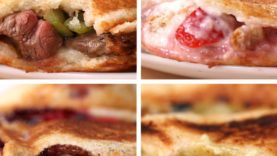 Toasties 4 Ways