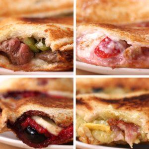 Toasties 4 Ways